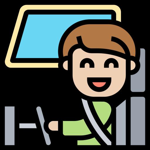 Sticker de conductor.